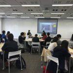 東京大学での授業協力(2018年10月)