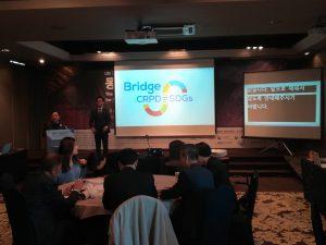 Bridge CRPD=SDGs