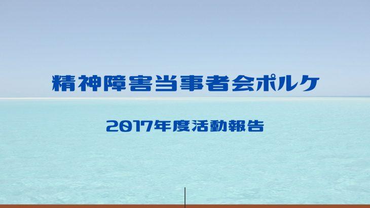 2017年度活動報告